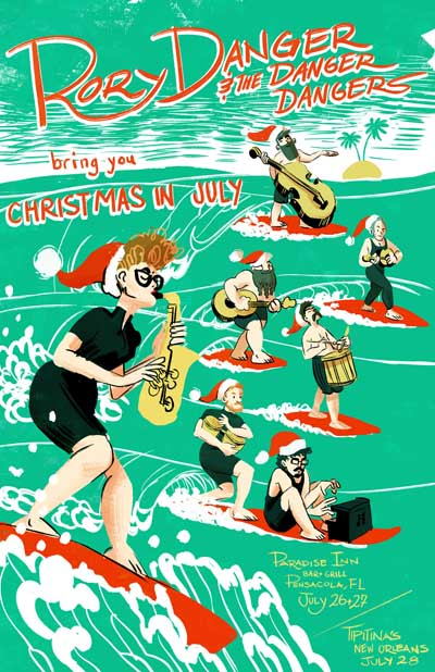Free Fridays!  RD&DD present Christmas in July!